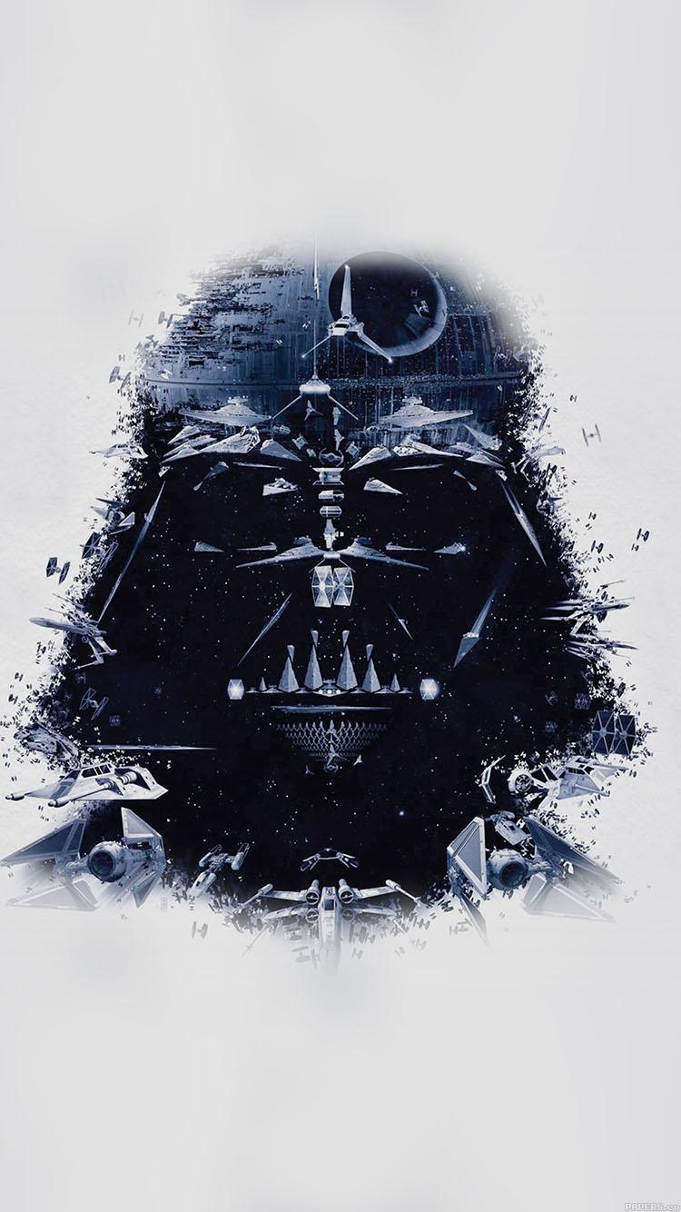 Iphone7papers Ac33 Wallpaper Darth Vader Art Star Wars Illust