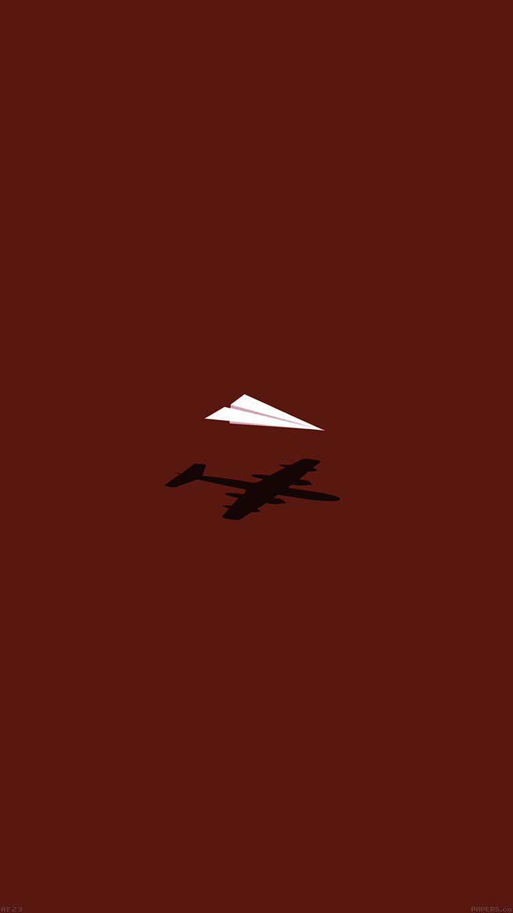 Iphone7papers Af23 Rc Plane Minimal Red Art Illust Cute