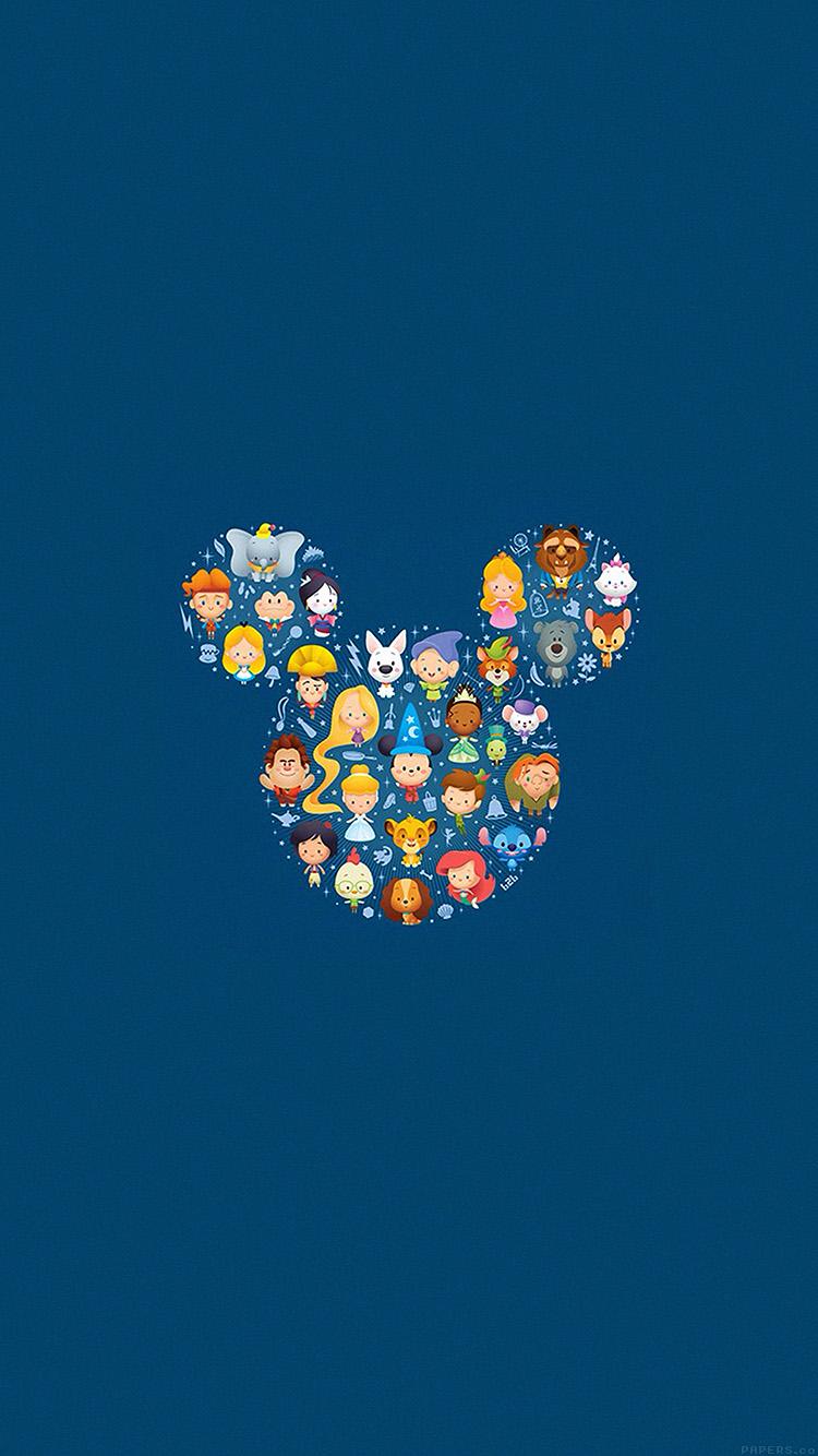 Iphone7papers Ah22 Disney Art Character Cute Illust