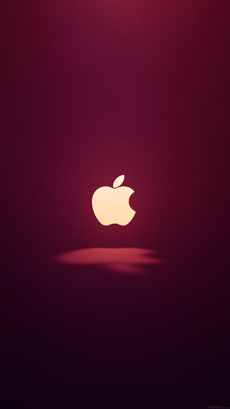 iPhone7papers.com | iPhone7 wallpaper | ai61-apple-logo-love-mania-wine-red