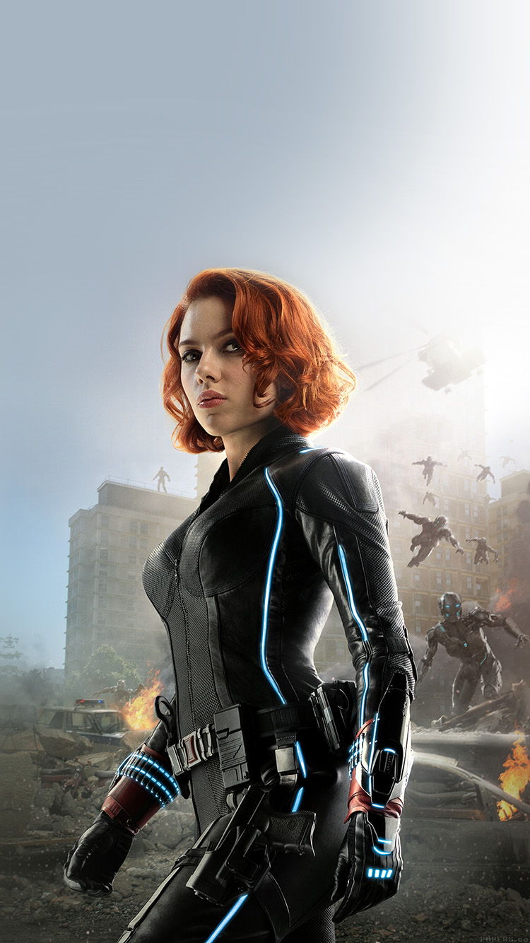 Ak77 Avengers Age Of Ultron Scarlett Johansson Black Widow