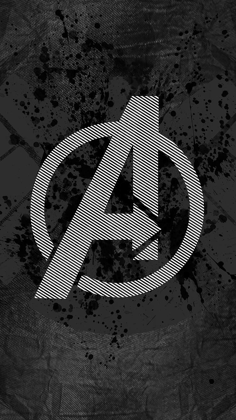 iphone7papers - am03-avengers-logo-art-hero-dark
