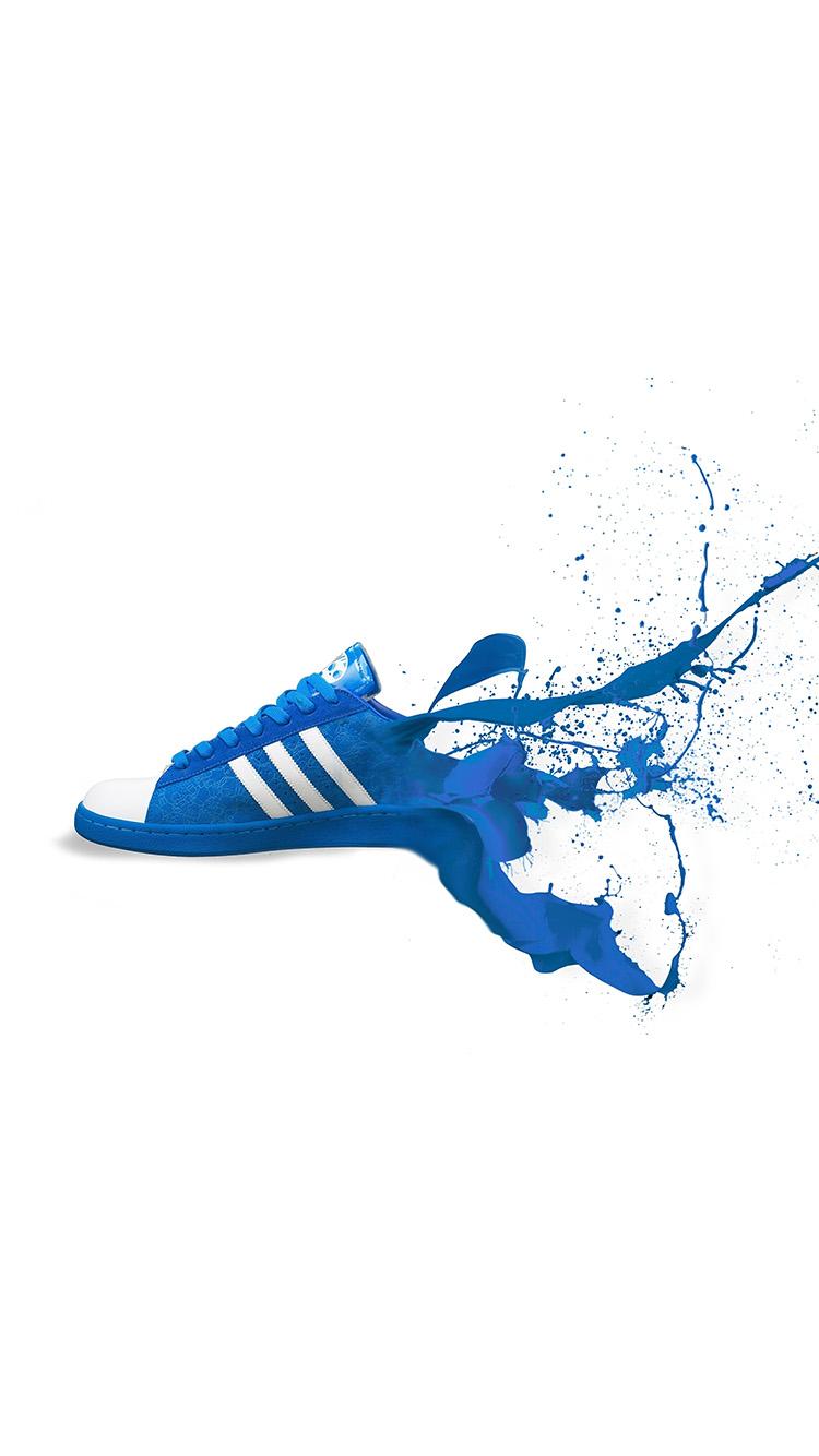 Iphone7papers am05 adidas scarpe blu e scarpe da ginnastica logo arte