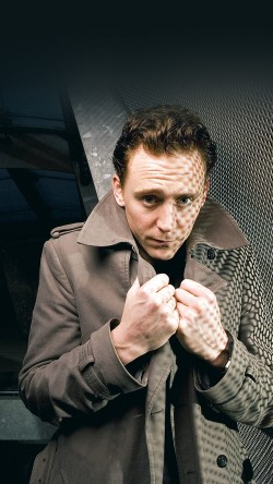 Tom Hiddleston in Soho, London, Britain - 14 Feb 2011