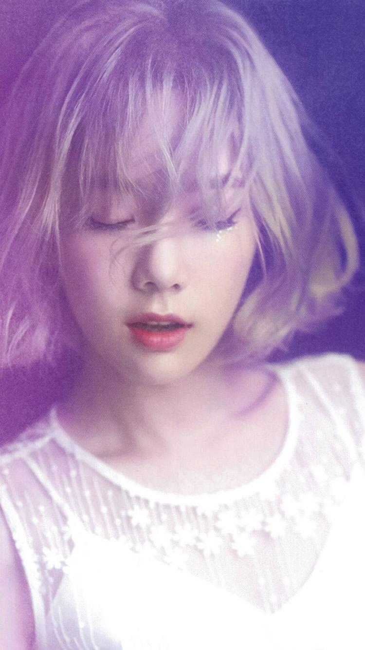 Iphone7paperscom Iphone7 Wallpaper Hl10 Taeyeon Kpop