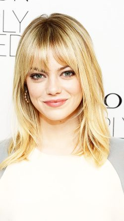Emma Stone Revlon's NEW Nearly Naked Makeup Launch