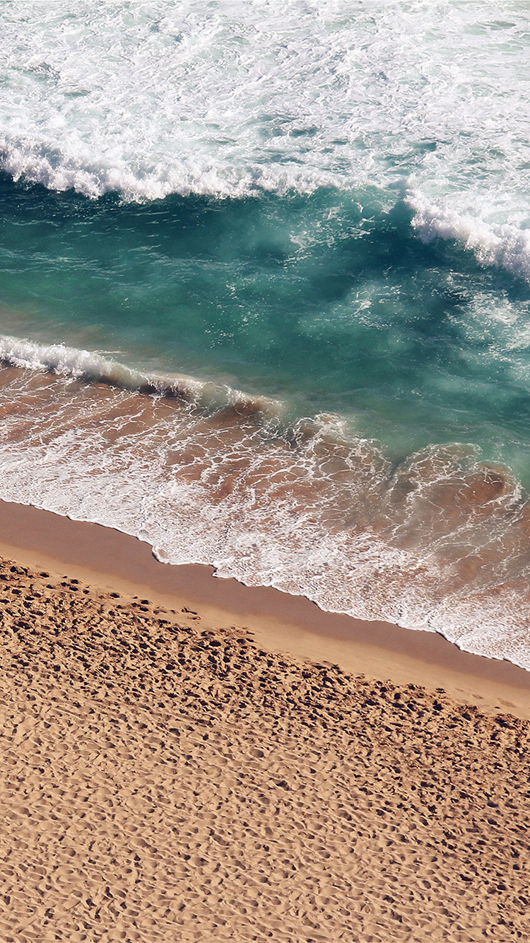 Iphone7papers Ms15 Beach Wave Coast Nature Sea Water Summer Iphone