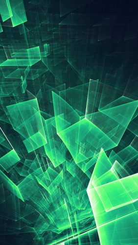 vl89-abstract-blue-green-cube-pattern