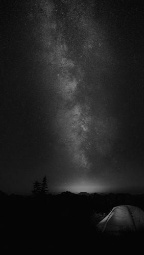 my86-camping-night-star-galaxy-milky-sky-dark-space-bw-dark